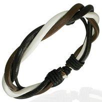 Renobijoux - Bracelet Fantaisie Cuir