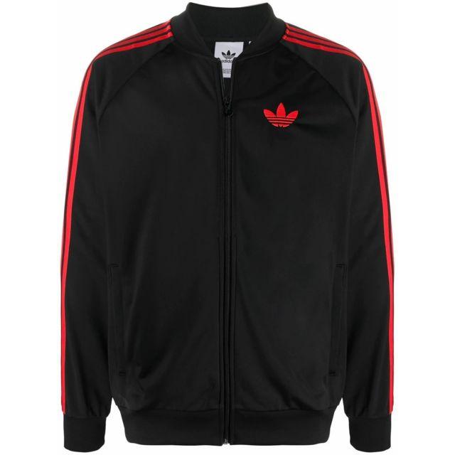 ADIDAS Homme Gk0657 Noir Coton Sweatshirt