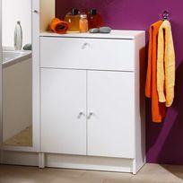 Marque Generique - Élément de salle de bain équipé de 2 portes, d'un tiroir et d'un rayon