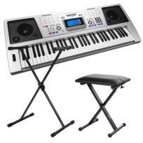 Funkey - 61 Plus Clavier Set avec stand de clavier, banc