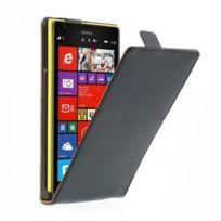 Stax - Etui livre noir pour Lumia 1520