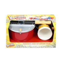 Pop Corn Maker - Casserole à Pop Corn 5 Litres + 4 Gobelets
