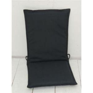 coussin pour fauteuil coloris anthracite moorea pas cher achat vente coussins galettes de. Black Bedroom Furniture Sets. Home Design Ideas