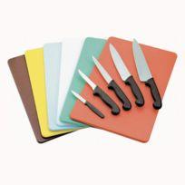 Az Boutique - Planche à découper bleue 40 x 30 x 1cm en polyéthylène - poisson - Planche à découper