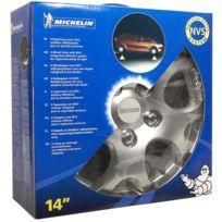 Michelin - boîte 4 enjoliveurs 14''NVS 938