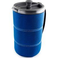 Gsi - Cafetière à piston - Vaisselle - 880ml bleu/transparent