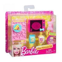 barbie mattel set micro ondes et accessoires cuisine maison - Barbie Cuisine