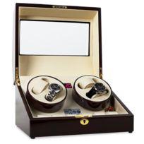 KLARSTEIN - Watchwinder remontoir 10 montres coffret boite à montres - fait main