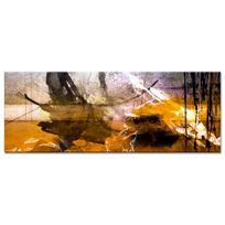 Declina - Tableau toile abstraite tâches de couleur - Déco de salon design