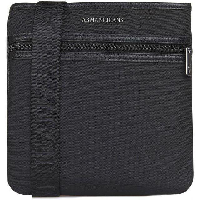 Armani - Mini Sac Porte Croise Nestor Jeans - pas cher Achat   Vente Besaces  - RueDuCommerce c8bd445a1d9
