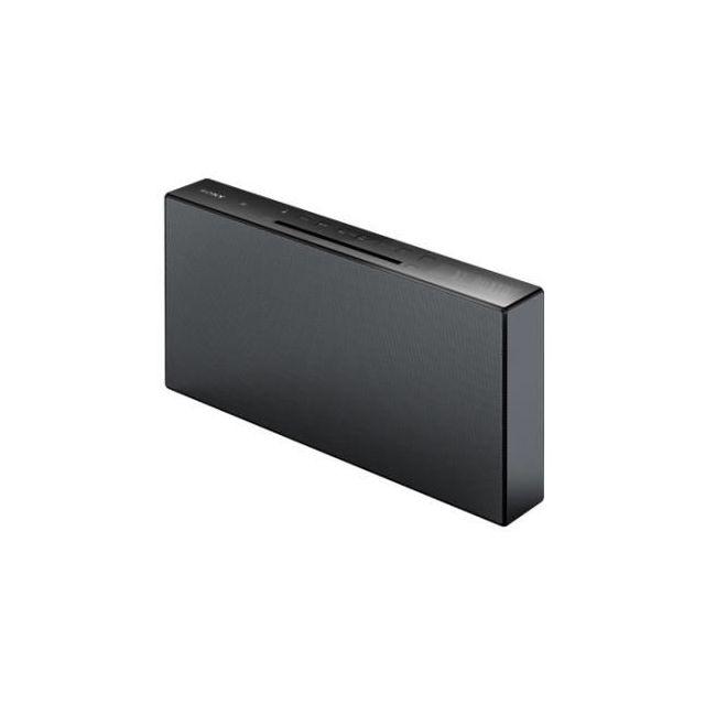 SONY Chaine hifi - CMTX3CDB - Noir Donnez de la puissance à vos bassesUn système audio puissant pour une fête mémorable. Avec son système pour la pression acoustique, la MHC-V7D délivre un niveau de pression acoust