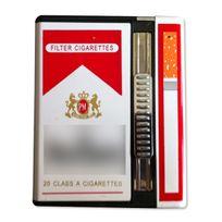 Totalcadeau - Etui de cigarette espion et briquet caméra intégré 4Go