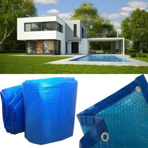 probache b che bulles solaire chauffante pour piscine 8x14m couverture thermique pas cher. Black Bedroom Furniture Sets. Home Design Ideas