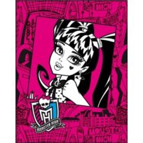 Cti - Plaid Polaire Monster High Frame Pink 110 x 140 cm