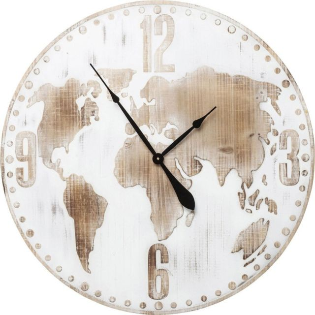 Karedesign - Horloge murale Antique World 80cm Kare Design - pas ... 1906e5d3280b