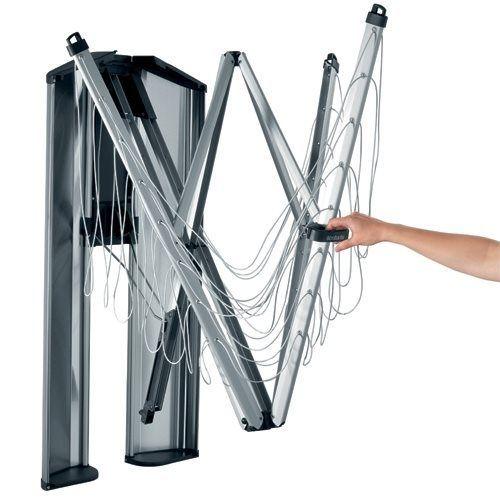 brabantia s choir wallfix avec bo te de protection pas. Black Bedroom Furniture Sets. Home Design Ideas