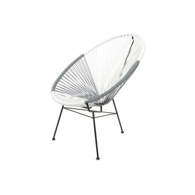 Fauteuil acapulco achat vente de fauteuil pas cher - La chaise longue rue princesse ...