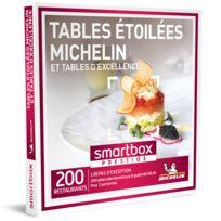Smartbox - Tables étoilées Michelin et tables d'excellence - Coffret Cadeau