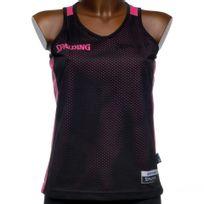 Spalding - Maillot de basket Reversible maillot noir/r Noir 40199