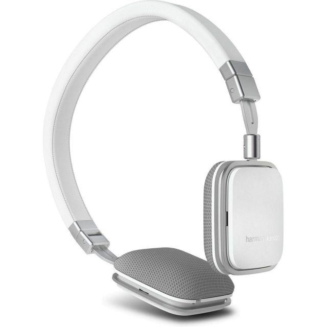 HARMAN KARDON Slim foldable mini headphones - compatible Android - SOHO WHITE