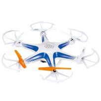 Helicute - Drone 6 hélices télécommandé avec caméra - Blanc