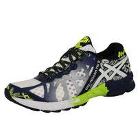 Asics - Gel Noosa Tri 9 Chaussures de Running Homme Blanc Bleu Jaune