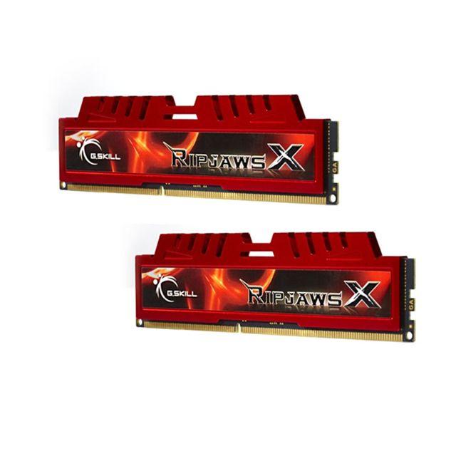 G.SKILL - Ripjaws X 8 Go 2 x 4 Go DDR3 1333 MHz Cas 9