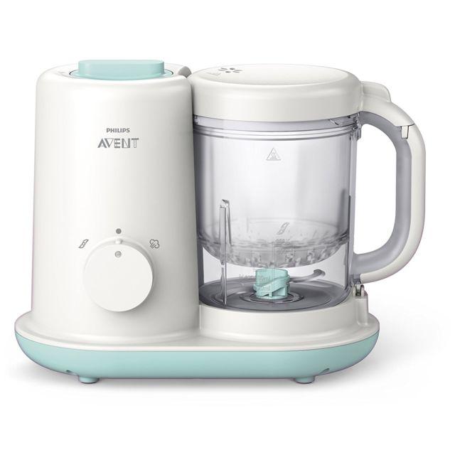 Philips Avent Robot cuiseur-mixeur multifonction pour bébé EasyPappa Essential SCF862/02