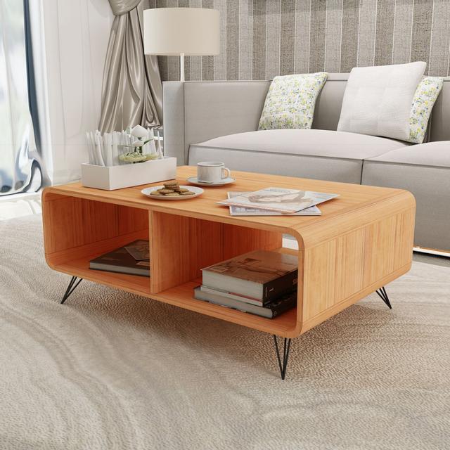 Vidaxl Table basse 90x55,5x38,5 cm Bois Marron