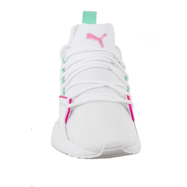 Puma Baskets mode 367355 muse maia chase blanc pas cher