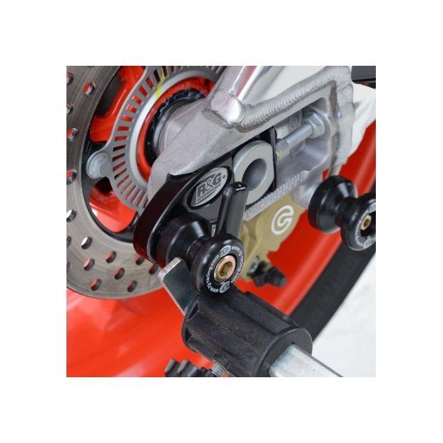 Aprilia - Rsv4 / Tuono V4-PLATINES Diabolos Noir La Paire R&G Racing-443121