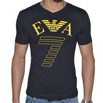 11fe818c9a02 Armani Ea7 - Tee Shirt Ea7 Emporio Armani Manches Courtes Hommes Col V  273755