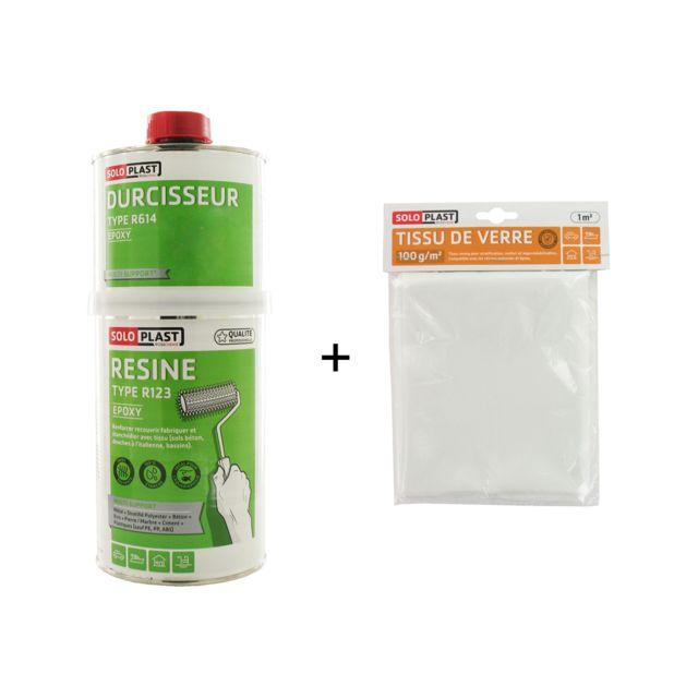 soloplast pack r sine epoxy type r123 1kg tissu de. Black Bedroom Furniture Sets. Home Design Ideas