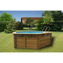 Intex - Piscine en bois 8,7m²