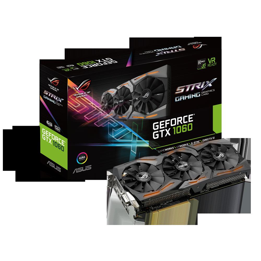 GeForce GTX 1060 Strix Gaming 6 Go