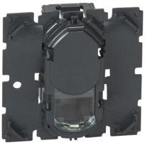 Prise RJ45 FTP 1 modules catégorie 6 Mosaic aluminium Legrand 79462