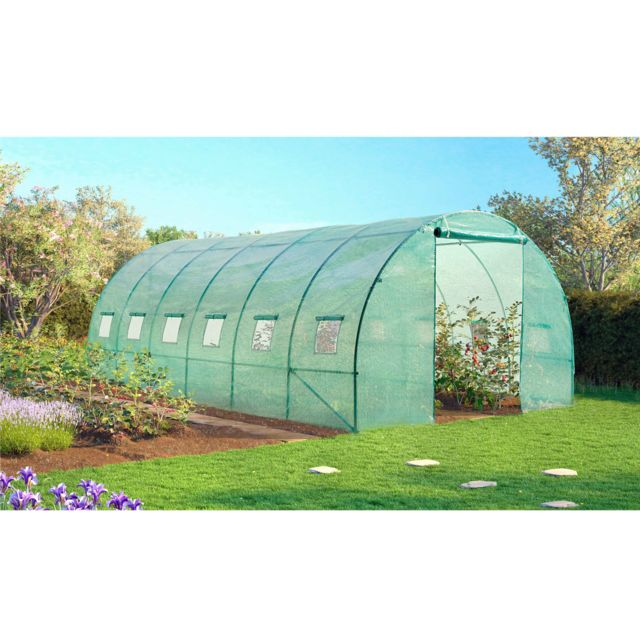 11 sur provence outillage serre tunnel de jardin 18m2 3x6 m tres vendu par rueducommerce 173316. Black Bedroom Furniture Sets. Home Design Ideas