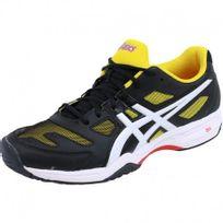 Asics - Chaussures Noir Gel Solution Slam 2 Tennis Homme