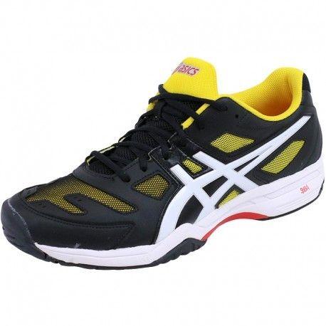 12 12 12 Slam Asics Preto 44 2 Ténis Solução Gel Mens Shoes rp6rqw4