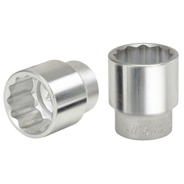 SAM Outillage S-9 Douille courte 1//2 12 Pans de 9 mm