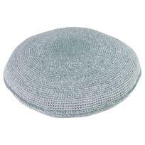 Sebra Interior - Coussin en Crochet - Bleu gris