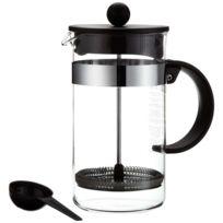 Melior - Cafetière à piston 8 Tasses Noire Bistro Nouveau