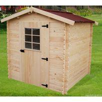 Habrita - Abri de jardin en bois Albon 2 X 2 m sans plancher