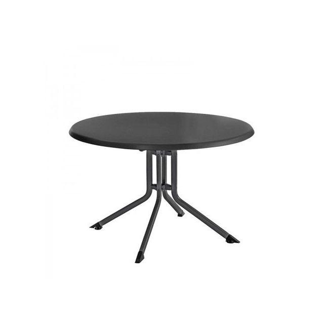 Kettler - Table de jardin pliante anthracite Advantage en aluminium ...