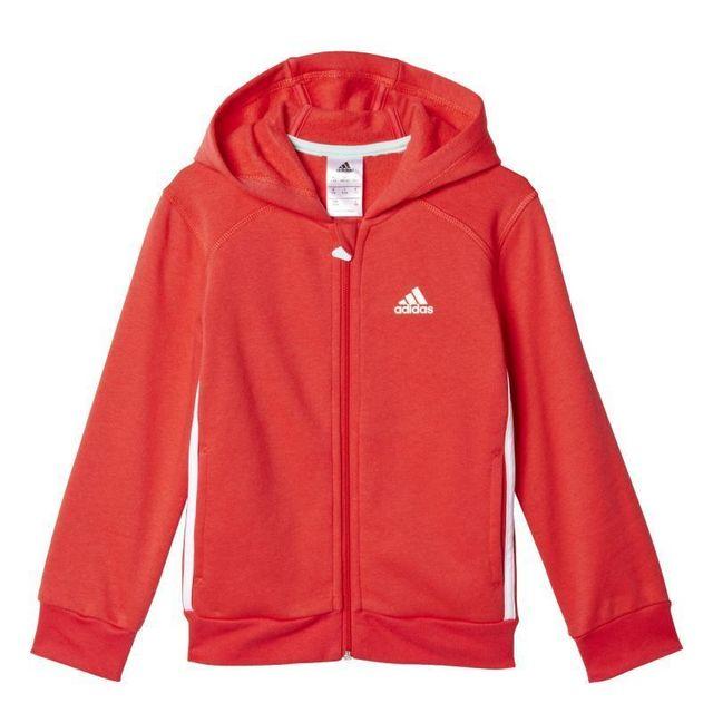 Adidas - Survêtement molleton enfant hojo Rose - Taille unique - pas cher  Achat   Vente Survêtement femme - RueDuCommerce 16d455ced0b
