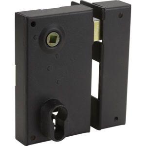 bricard serrure en applique monopoint verticale fouillot ouvrant droite 45 mm pour grilles. Black Bedroom Furniture Sets. Home Design Ideas