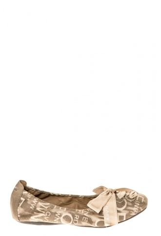 Cassis Côte D'azur Ballerines Jably Toile Taupe