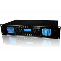 Ltc Audio - Ampli sono 2 x 750W lecteur Usb/SD/MMC Ltc-1500USB
