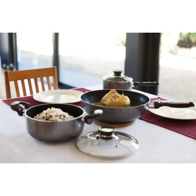 WOK Mini wok Pro Induc - Ø 20 cm - Noir - Tous feux dont induction