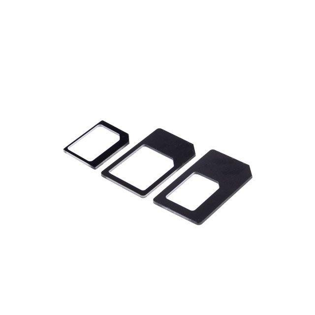 cabling adaptateur carte sim nano micro sim 3 en 1 pas cher achat vente appcessoires. Black Bedroom Furniture Sets. Home Design Ideas